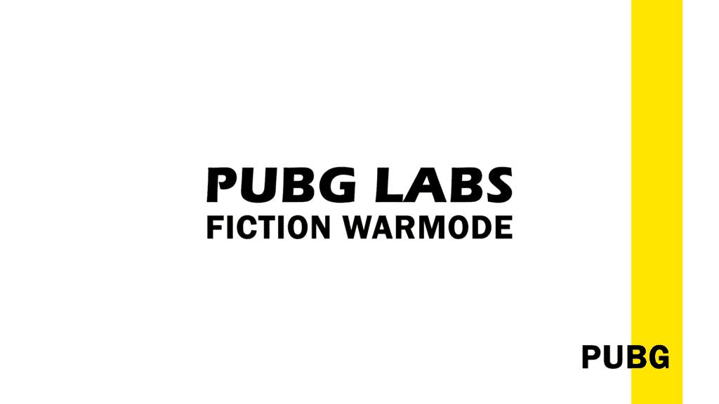 PUBG Faction Warmode
