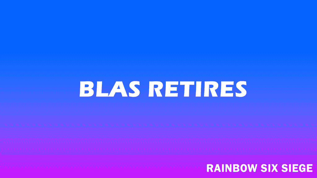 LowLandLions' blas Retires