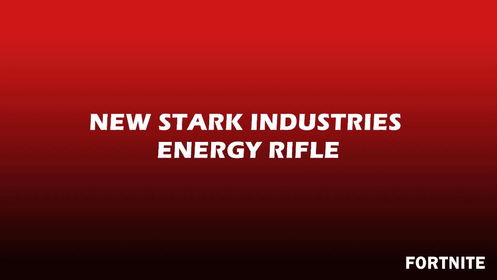 Stark Industries Energy Rifle