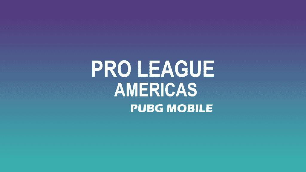 PUBG MOBILE PRO LEAGUE america