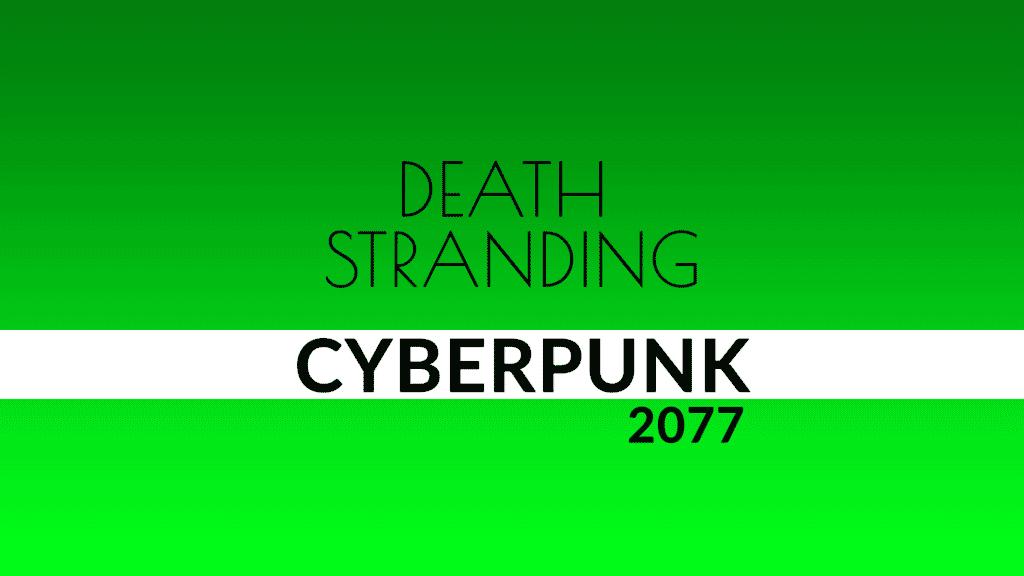 DEATH STRANDING CYBERPUNK