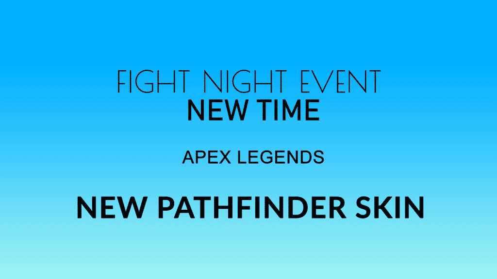 fight night event time