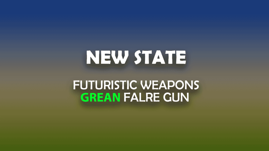 pubg new state weapons