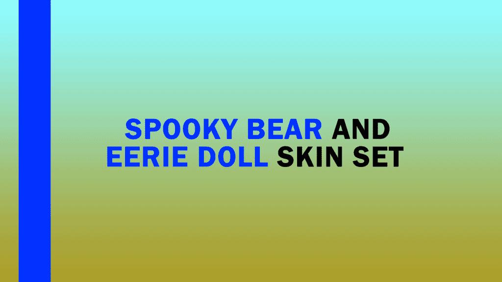 pubg mobile spooky bear skin