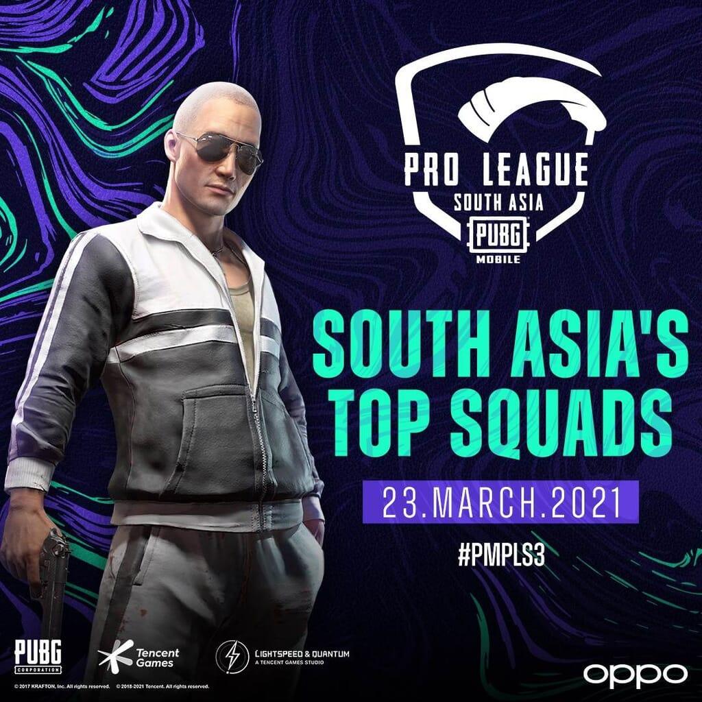 PUBG MOBILE Pro League South Asia Tournament