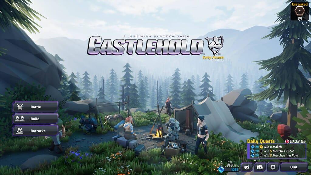 castlehold game